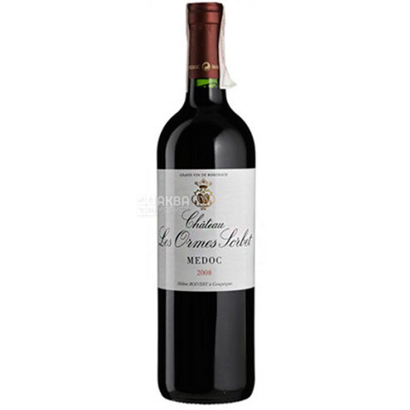 Chateau Les Ormes Sorbet, Вино красное сухое, 0,75 л