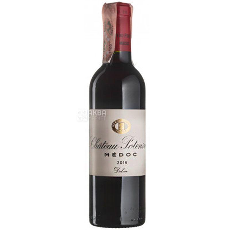 Chateau Potensac, Вино красное сухое, 0,75 л