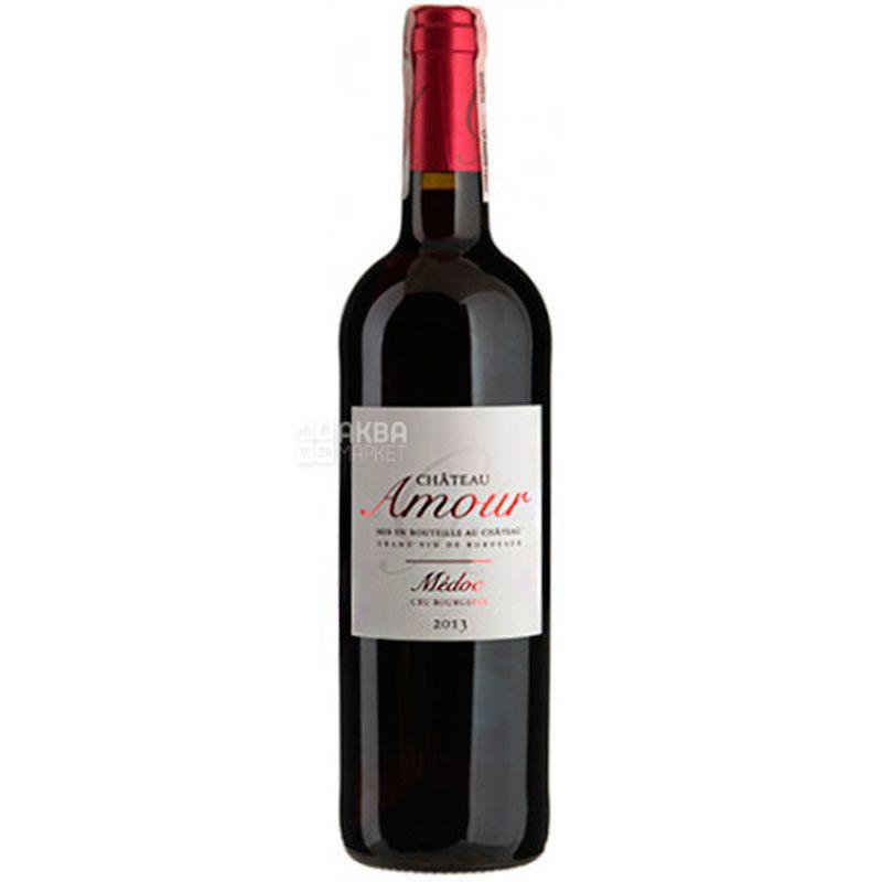 Chateau Amour, Вино красное сухое, 0,75 л