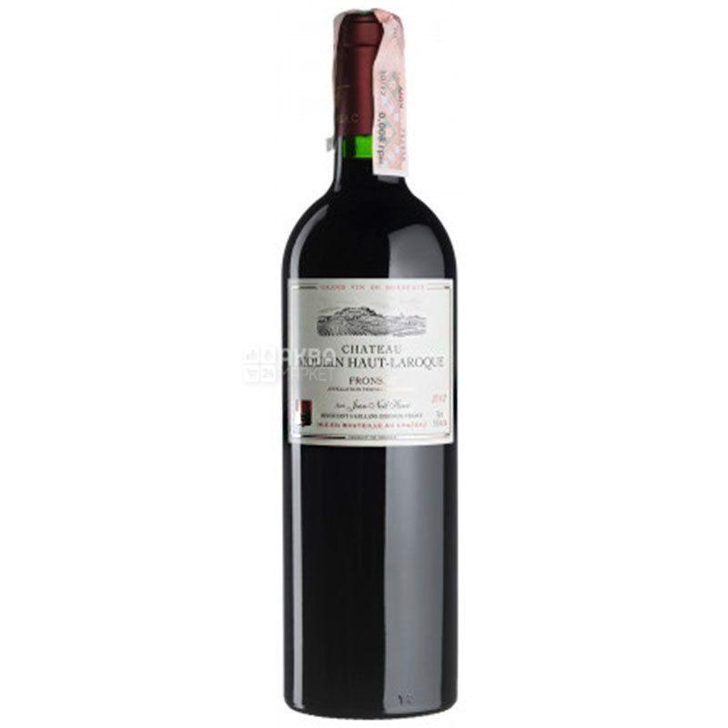 Chateau Moulin Haut-Laroque 2002, Вино красное сухое, 0,75 л