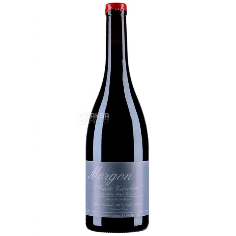 Jean Foillard, Morgon Corcelette 2016, Вино красное сухое, 0,75 л