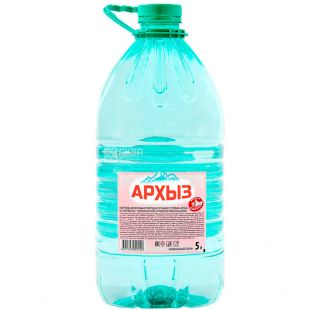 Arkhyz, Non-carbonated mineral water, 5 L, PET, PAT