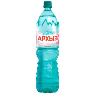 Архыз, 1,5 л, Вода горная минеральная негазированная, ПЭТ