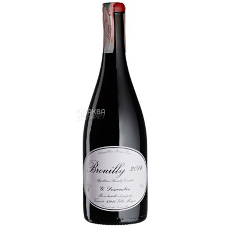 Georges Descombes, Brouilly Vielles Vignes, Вино красное сухое, 0,75 л
