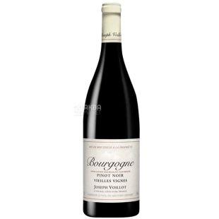 Joseph Vallot, Bourgogne Pinot Noir Vieilles Vignes, Вино червоне сухе, 0,75 л