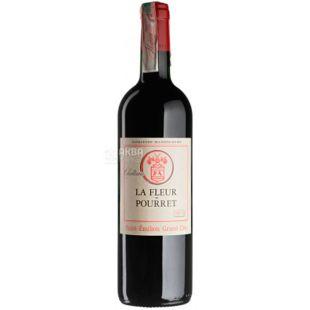 Chateau La Fleur Pourret Saint-Emilion Grand Cru, Вино червоне сухе, 0,75 л