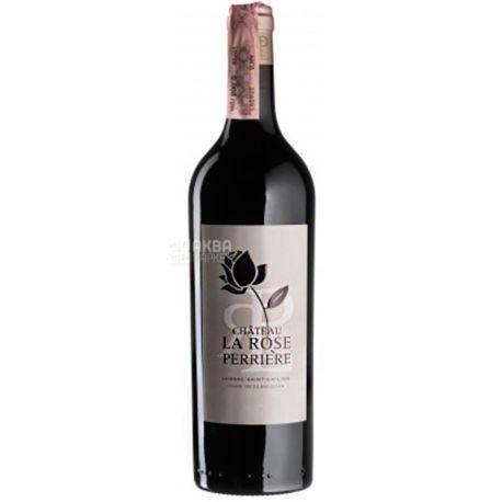 Chateau Perriere La Rose 2015, Вино красное сухое, 0,75 л
