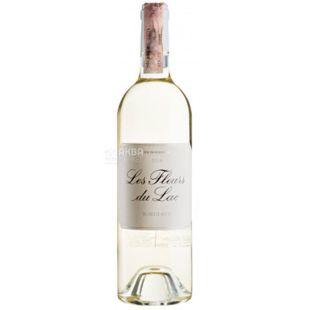 Les fleur du Lac 2016, Вино біле сухе, 0,75 л
