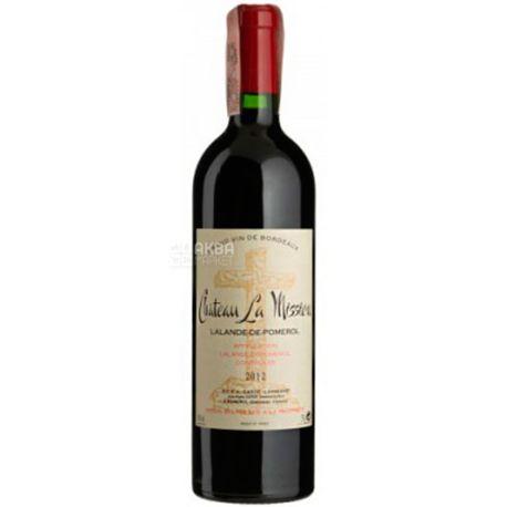 Chateau La Mission-Haut-Brion 2012, Вино червоне сухе, 0,75 л