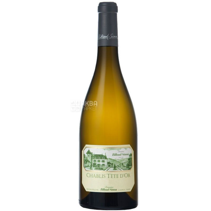 Billaud-Simon, Chablis Cote d'or 2016, Вино біле сухе, 0,75 л