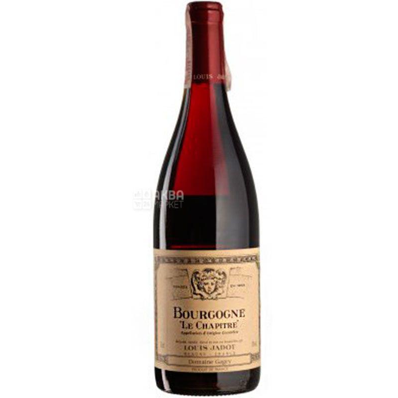 Louis Jadot, Bourgogne Le Chapitre Domaine Gagey, Вино красное сухое, 0,75 л