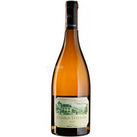 Billaud-Simon, Chablis Cote d'or 2017, Вино біле сухе, 0,75 л