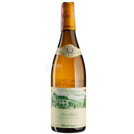 Billaud-Simon, Chablis, Вино біле сухе, 0,75 л