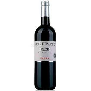 Chateau Chantemerle, Вино червоне сухе, 0,75 л