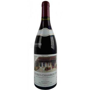 Gerard Raphet, Gevrey-Chambertin, Вино червоне сухе, 0,75 л