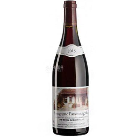 Gerard Raphet, Bourgogne Passetoutgrains, Вино червоне сухе 0,75 л