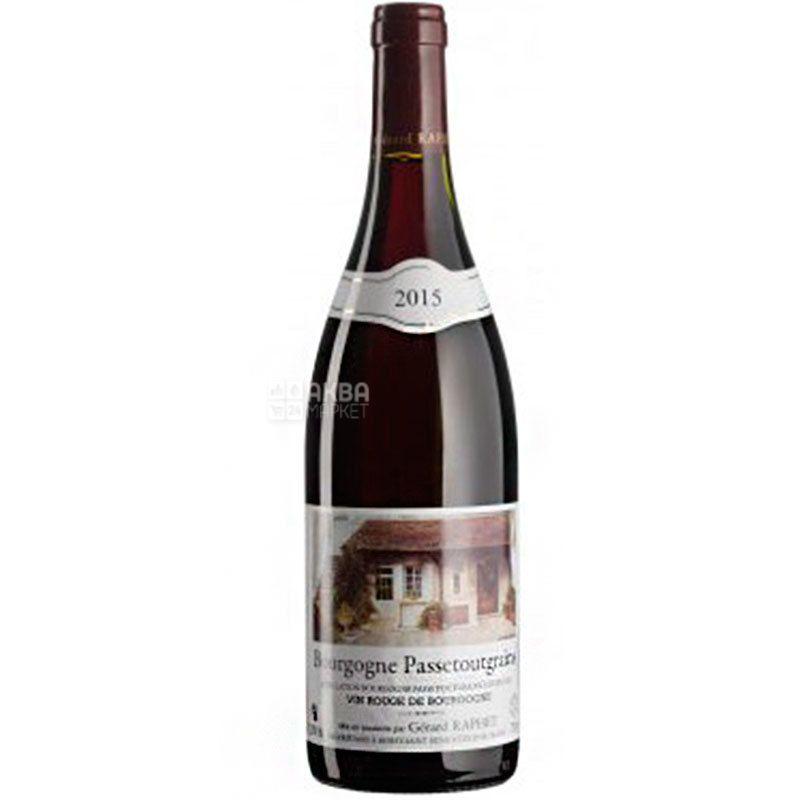 Gerard Raphet, Bourgogne Passetoutgrains, Вино красное сухое 0,75 л