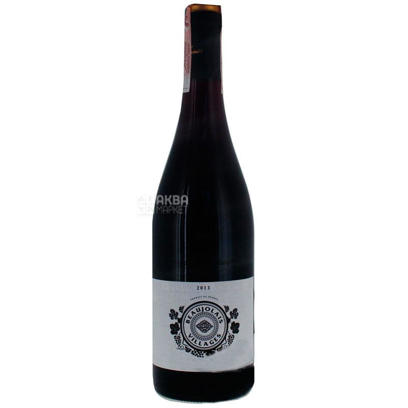 A Vonnier, Beaujolais Villages, Вино красное сухое Божоле Виллаж, 0,75 л