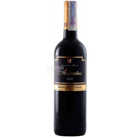 Bodegas Olarra Acantus Tinto, Вино красное сухое, 0,75 л