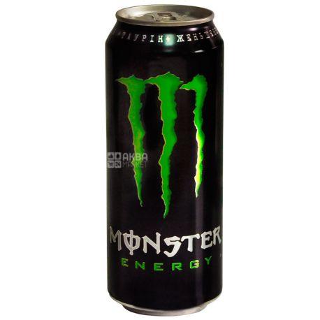 Monster Energy, 0,355 л, Напиток энергетический безалкогольный, Монстер Энерджи