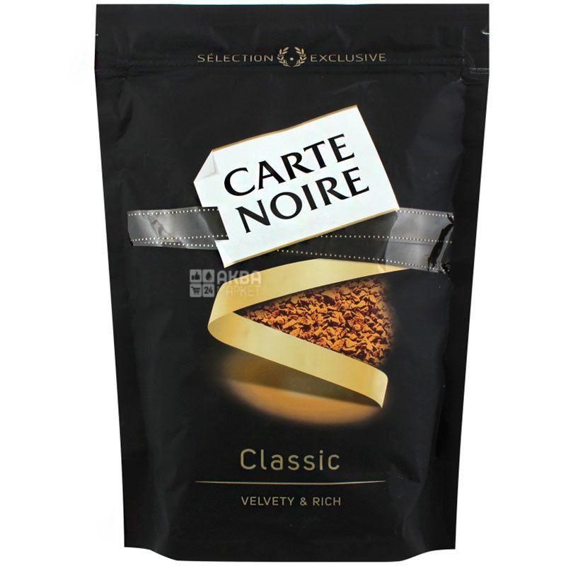 Carte Noire, 210 г, Кофе Карт Нуар, сублимированный, средней обжарки, растворимый