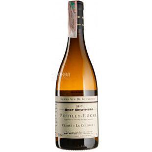 Bret Brothers, Pouilly-Loche Climat La Colonge 2017, Вино белое сухое, 0,75 л