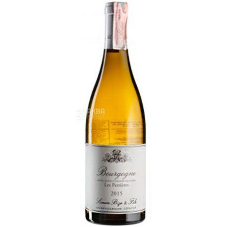 Simon Bize et Fils, Bourgogne Blanc Les Perrieres 2015, Вино біле сухе, 0,75 л