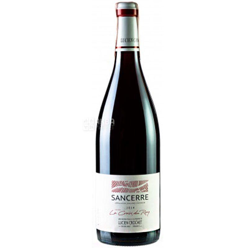 Lucien Crochet, Sancerre La Croix du Roy 2014, Вино червоне сухе, 0,75 л