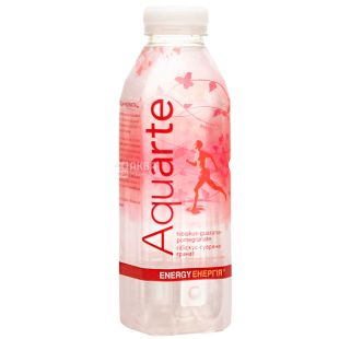 Aquarte Energy, 0,5 л, Акварте Енерджі, Вода негазована на рослинних екстрактах, ПЕТ