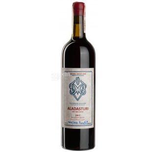 Aladasturi, Vartsikhe Marani, Вино красное сухое, 0,75 л