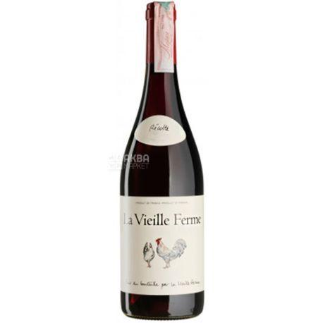 Perrin Et Fils S.A., La Vieille Ferme Rouge 2018, Вино красное сухое, 0,75 л