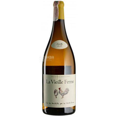 Perrin Et Fils S.A., La Vieille Ferme Blanc 2018, Вино белое сухое, 1,5 л