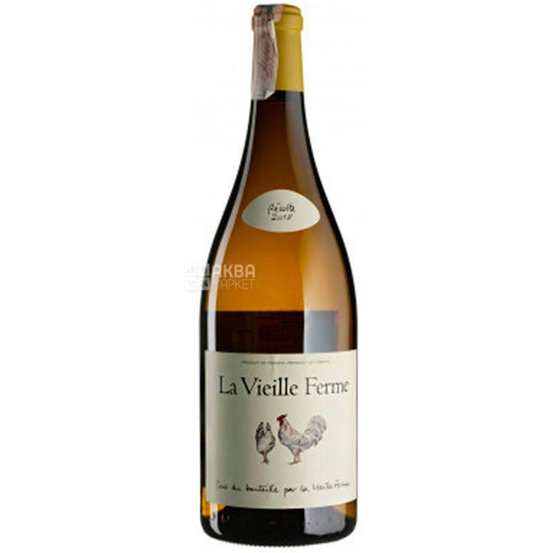 Perrin Et Fils S.A., La Vieille Ferme Blanc 2018, Вино біле сухе, 1,5 л