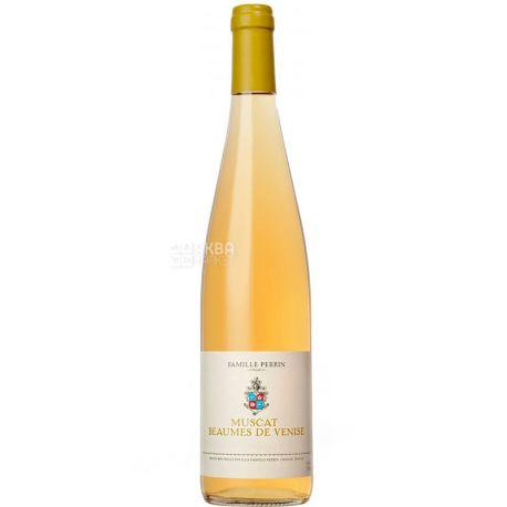 Famille Perrin, Muscat Beaumes de Venise 2016, Вино белое сладкое, 0,375 л