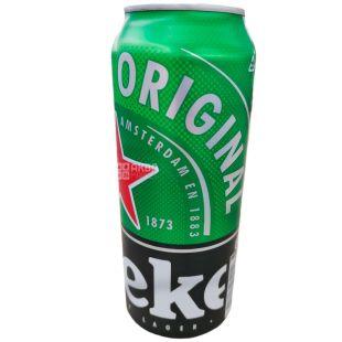 Heineken Original, Пиво светлое фильтрованное, 0,5 л, ж/б