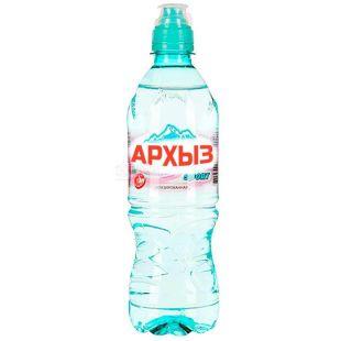 Архиз, 0,5 л, Вода мінеральна негазована, спорт, ПЕТ