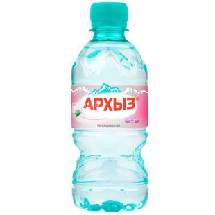 Архиз, 0,33 л, Вода мінеральна негазована, ПЕТ