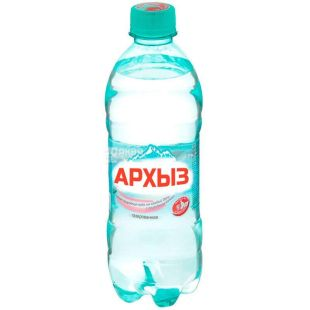 Архыз, 0,5 л, Вода минеральная газированная, ПЭТ