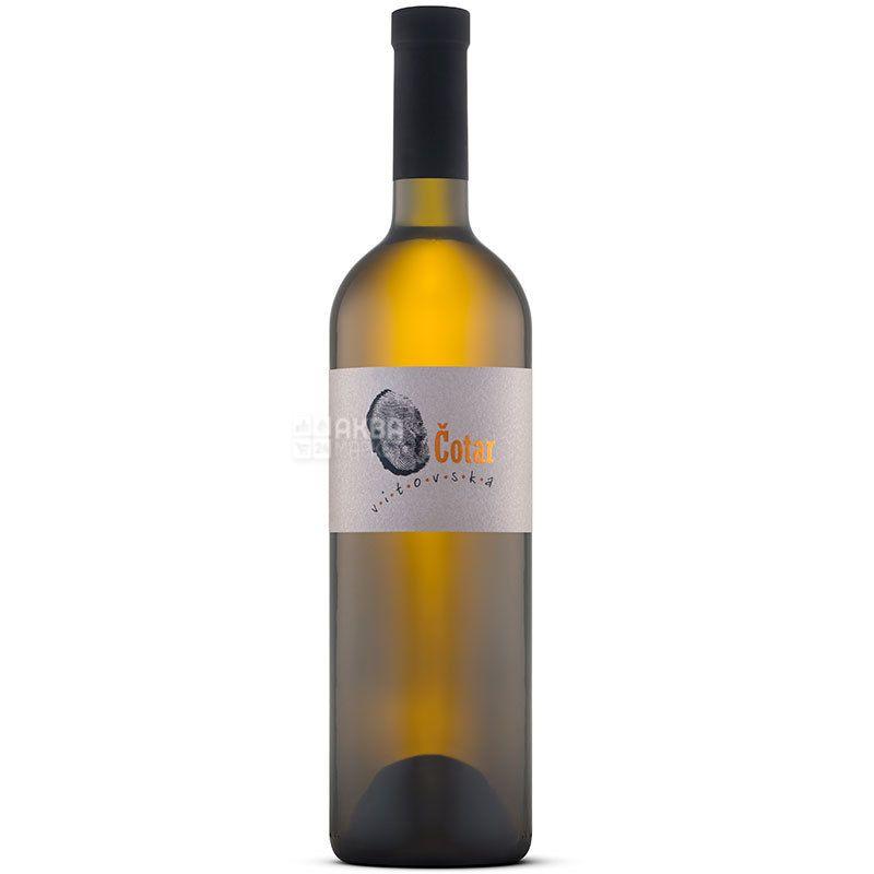 Vitovska, Cotar, Вино біле сухе, 0,75 л