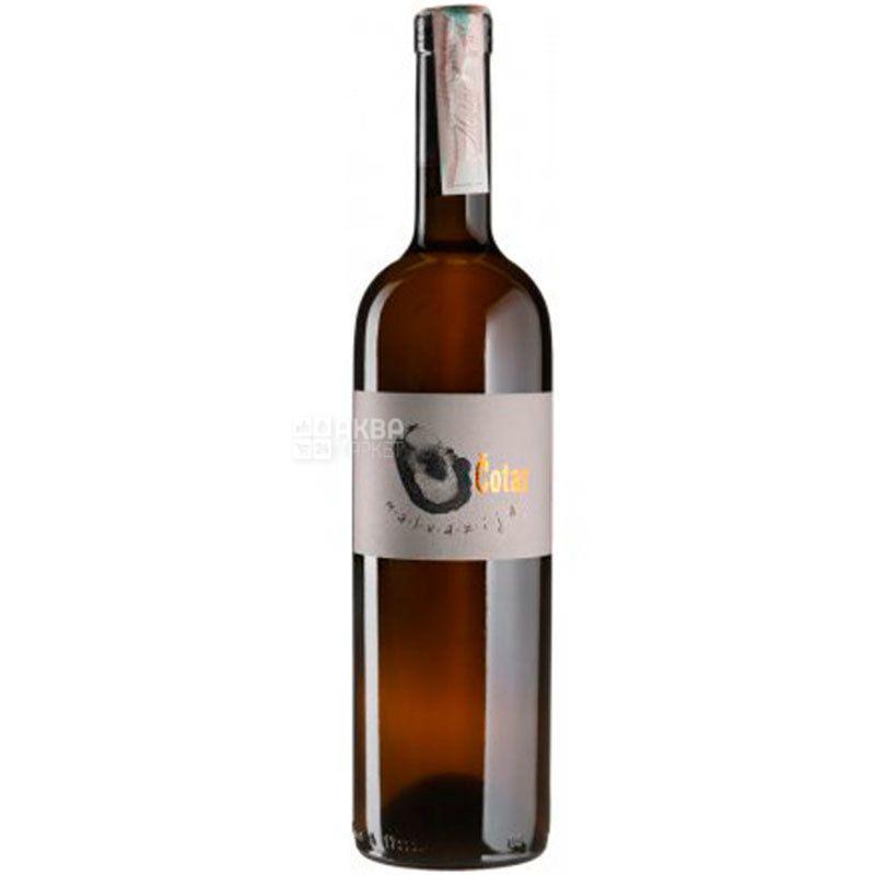 Malvazija, Cotar, Вино белое сухое, 0,75 л