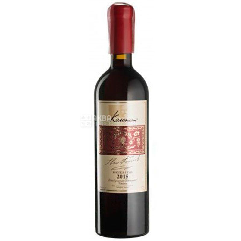 Каберне Мерло, Сухое Колонист, Вино красное сухое, 0,75 л