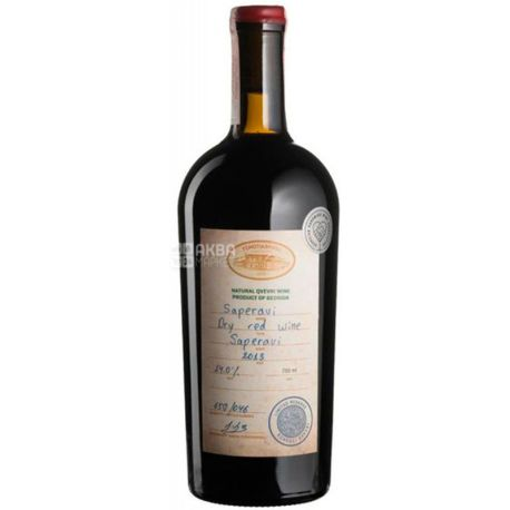Saperavi Reserve Tchotiashvili, Вино червоне сухе, 0,75 л