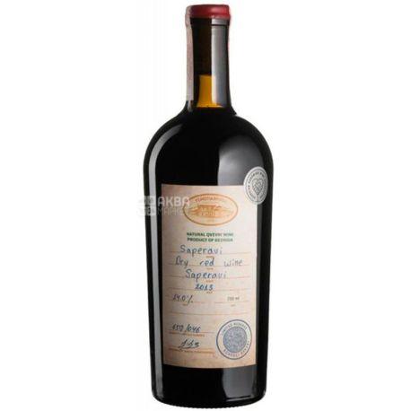 Saperavi Reserve Tchotiashvili, Вино красное сухое, 0,75 л