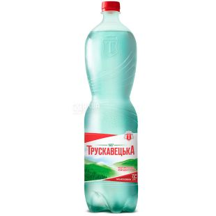 Truskavets, 1.5 l, carbonated water, PET, PAT