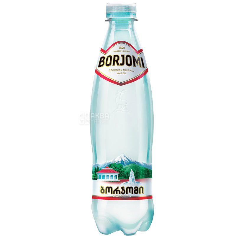 Borjomi, 0,5 л, Боржомі, Вода мінеральна сильногазована, ПЕТ