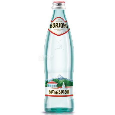 Borjomi, 0,33 л, Боржомі, Вода мінеральна сильногазована, скло