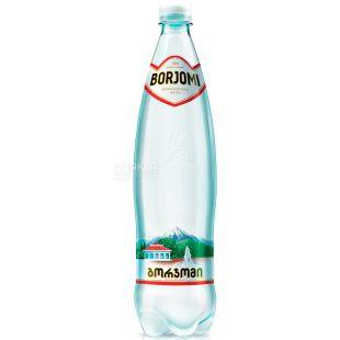 Borjomi, 1 л, Боржомі, Вода мінеральна газована, ПЕТ