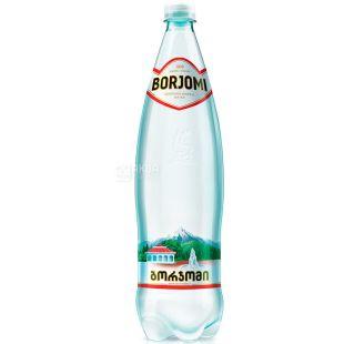 Borjomi, 1,25 л, Боржомі, Вода мінеральна газована, ПЕТ