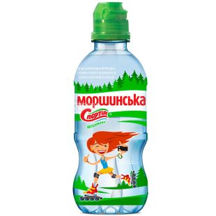 Morshynska, 0.33 l, Non-aerated water for children Sportik, PET, PAT