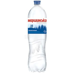 Morshynska, 1.5 liters, highly carbonated water, PET, PAT